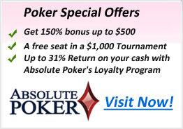 AbsolutePoker-Offers