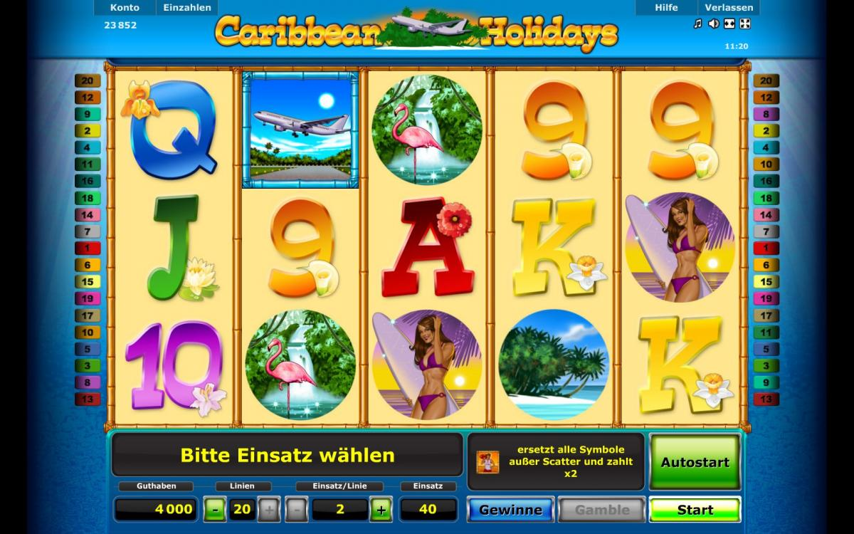 Spiele Caribbean Holidays - Video Slots Online
