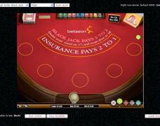 Betsson Casino Blackjack