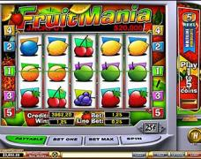 Fruitmania Slot 5-9 Line