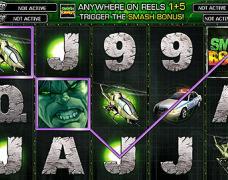 Incredible Hulk Slot 15-20 Line