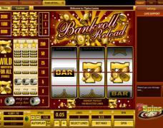 Bankroll Reload 3 Lines Slot