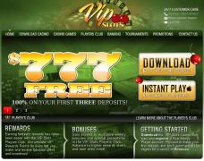 VIPSlots Casino website