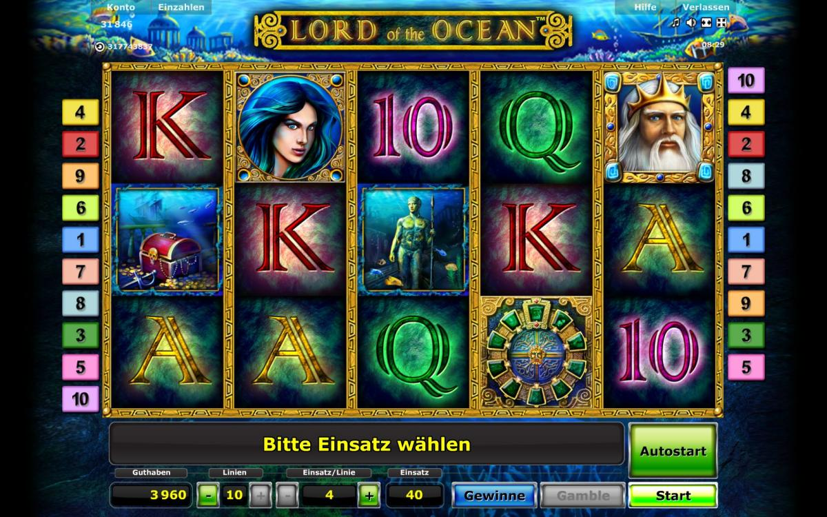 online casino sunmaker lord of the ocean