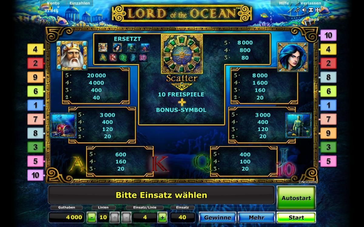 stargames lord of the ocean